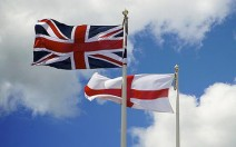 Union Flag and St George's Flag